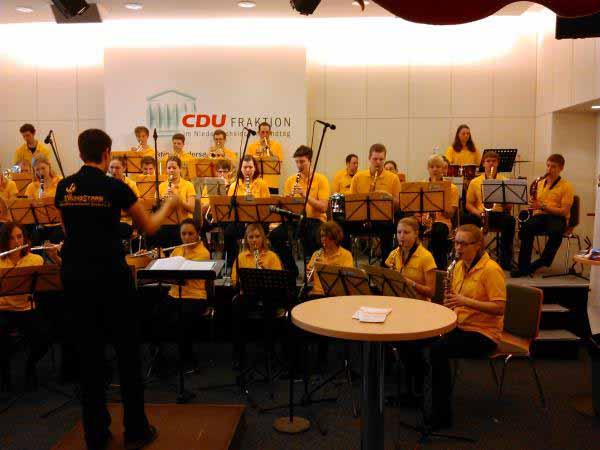 اجرای موسیقی در پارلمان هانوفر
