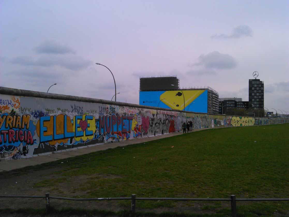 یادمان های دیوار برلین در قسمت شرقی