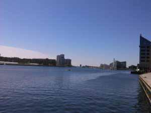 کانال وسط شهر کپنهاگ
