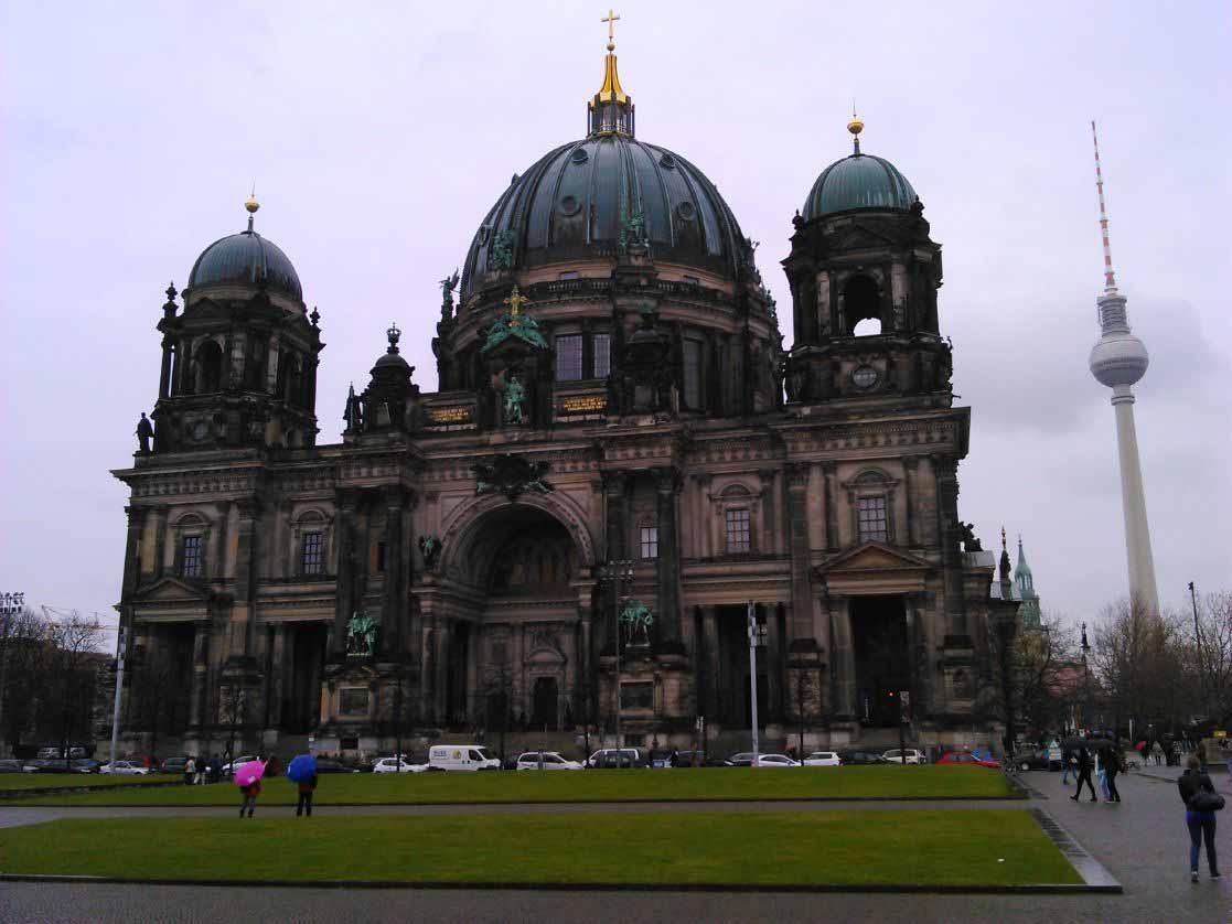 نمایی از گنبد برلین
