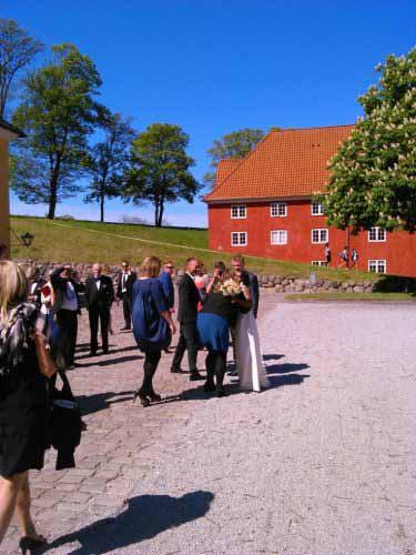 عروسی در کلیسای مرکز قلعه کپنهاگ