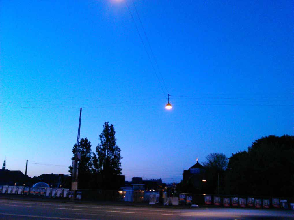 ساعت 11 شب در کپنهاگ . چه تاریکی ملوسی
