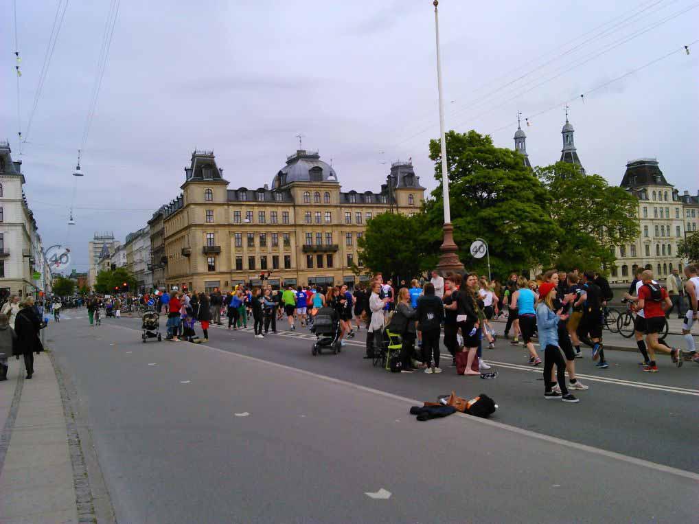 مسابقه دو در داخل کپنهاگ