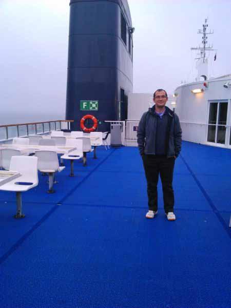 عرشه کشتی دانمارک - آلمان