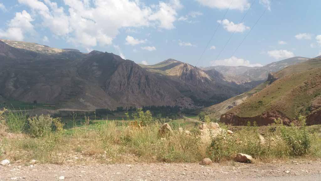 کوه کمر از نمای دور