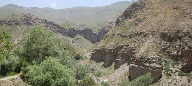 رکاب زنی خوزنکلا تا آبشار خور