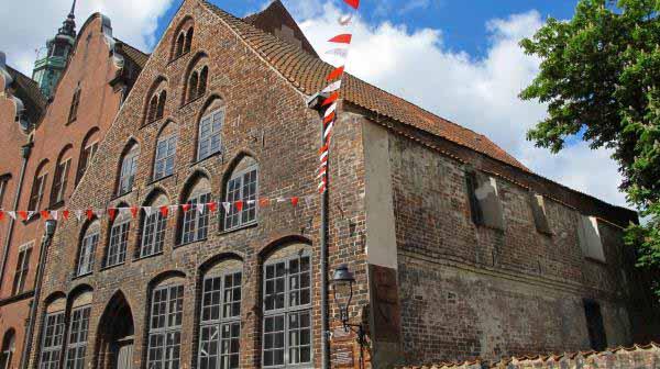 قدیمی ترین خانه لوبک با عمر 800 ساله