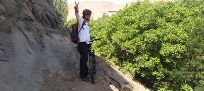 رکابزنی در جاده سیبان دره – سرزمین هزاربند