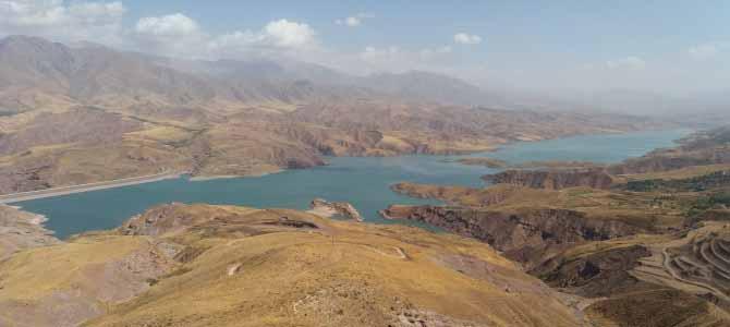 رکابزنی دور دریاچه طالقان
