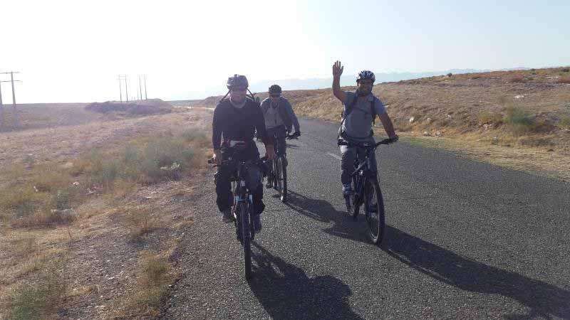 مسیر کفی بعد از سد ارس