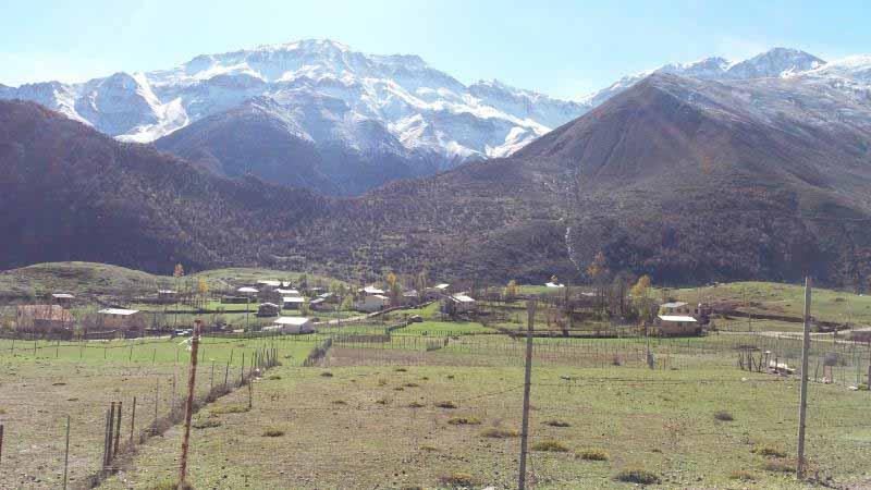 طبیعت روستای الیت