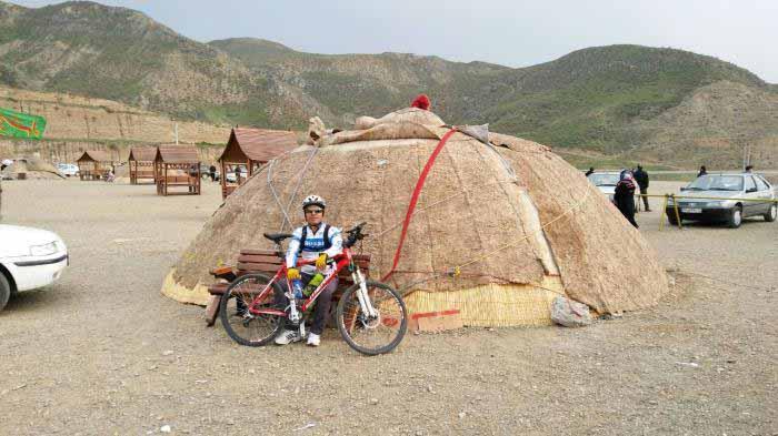 تفرجگاه جانانلو - چادر عشایری