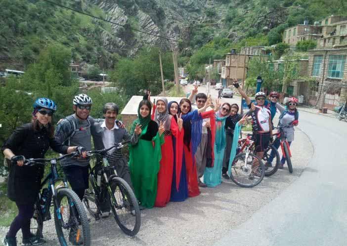 مردم مهربان روستای بلبر