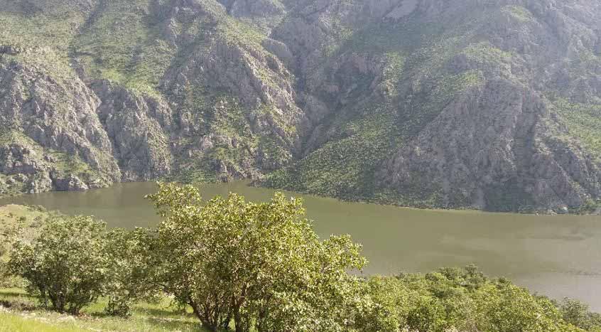 سد داریان و رودخانه سیروان