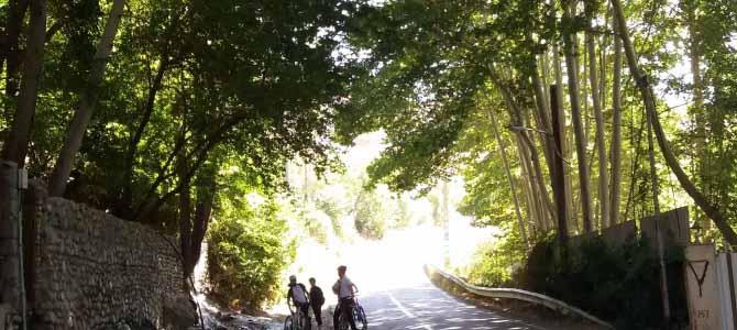 رکابزنی مسیر کرج به برغان و کردان