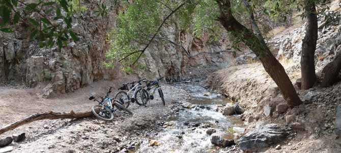 رکاب زنی از ولیان تا آبشارهای اسپی داران