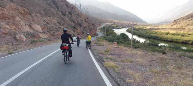 رکابزنی از جلفا تا پلدشت در کرانه ارس
