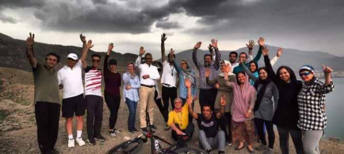 دوچرخه سواری در هندوستان ایران – طارم