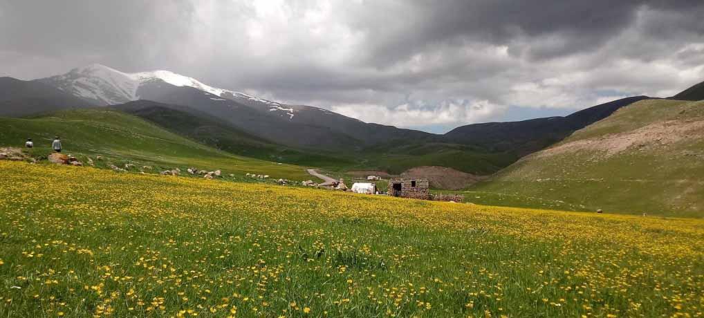 from Sabalan to Alborz mountains – 11 days by bike